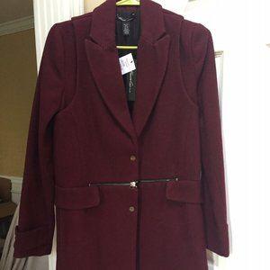 NWT Kenneth Cole Callan wool long Coat